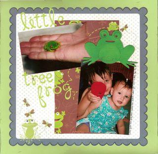 Leanne Lovett Little Tree Frog