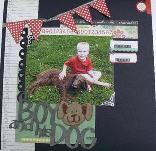 Jo caird a boy and his dog