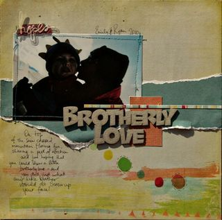 Brotherly Love - tracey thorne - may release