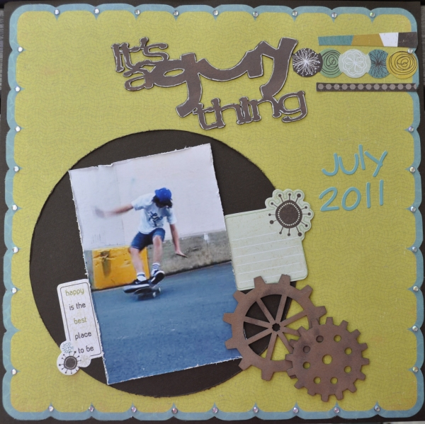 Julie It's a Guy Thing Layout
