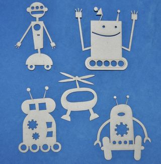 Shapes - Robots 5