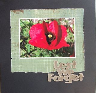 Annette lest we forget  A2Z 04-11
