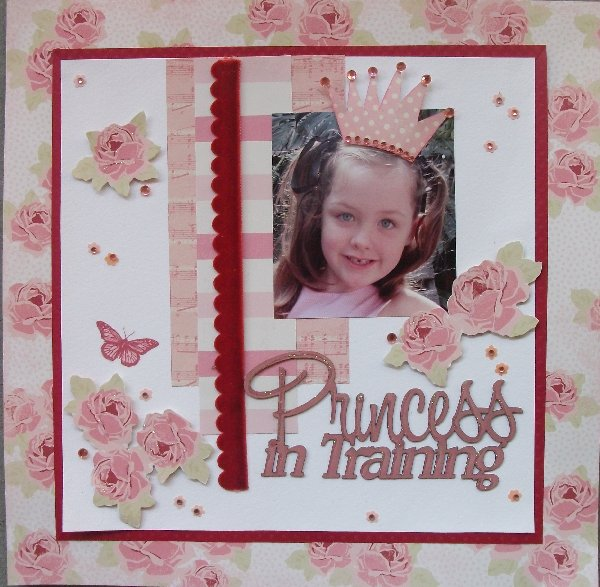 Annette princess in training 09-11