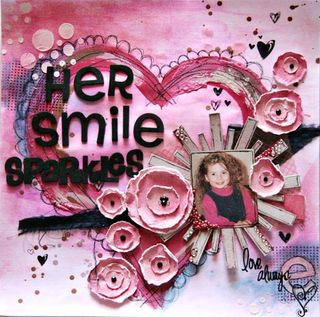 Her smile sparkles - tracey thorne - january release 2012